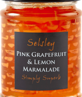 Selsley pink grapefruit & lemon