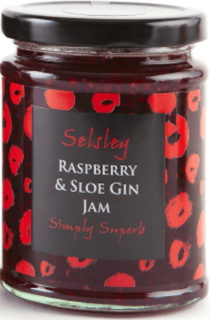 Selsley Raspberry & Sloe Gin Jam