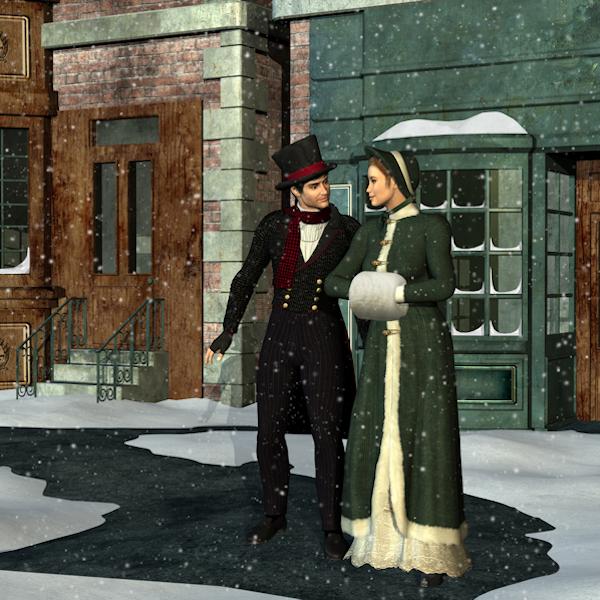 A Victorian couple